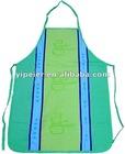 white cotton doctor apron