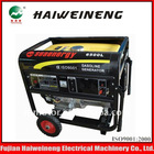 Single-cylinder portable 5 KVA petrol generator set