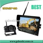 HOT- 7 inch 2.4GHz Digital Wireless Backup Camera System with DC12V~32V