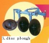 NC131 Hand tractor disc plough