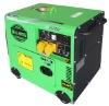 silent diesel generator set(DG6500SE)