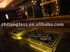 KTV glass desk