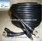 Pre-made coaxial cable rg59 power cable rg59 with power cable cctv camera cable