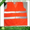 Summer orange high reflective safety vest reflective/ traffic vest/Hi-Vis warning reflective vest