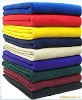 100% Polyester plain home textile stock poral Fleece Blanket