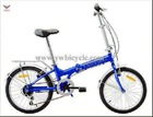 """2012 Factory Manufacture 20"""" Shimano Folding Bicycle"""