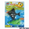Hot sale plastic wind up toys ,Wind up marine toys 2pcs,play on water