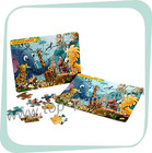 [Zhijian supply]children board book [ jigsaw paper puzzle for children]