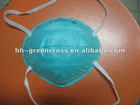 GREEN N95 Particulate Respirator Mask