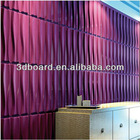 DIY 3d wall panel cement board for household