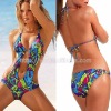 SW0008 - 2011 Hot Fashion Printed Color Ladies' One-piece Sexy Swimming Suit / Swimsuit / Bikini