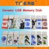 Ceramic USB disk TZ-USB301H USB flash drive Ceram material
