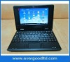 7inch laptop VIA8850,Dual cameras,Android 4.0(support flash 10.1),WIFI,3G
