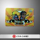 Adhesive back pvc cards