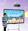 "movable 82"" to 120"" electronic wirting board"