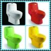 Bathroom ware color one piece toilet