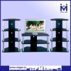 Black Corner TV set furniture MGR-9719