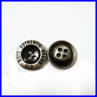 fashion gold custom made sewing buttons for clothing