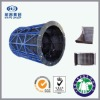 abrasion resistant rubber-plated ore mining trommel screen