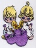 Applique embroidered patch - Angel