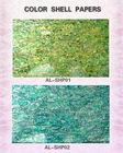 paua shell paper | abalone shell paper |shell mosaic