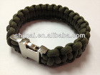 customize your own power balance paracord bracelet