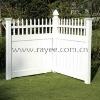 PVC garden doors