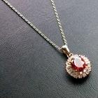 Fashion Charm Zircon Pendant Necklace