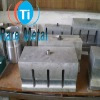 Ultrasonic titanium moulds for machine using