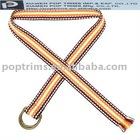 Decorative TC webbing belt