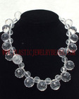 crystal diamond necklace, diamond crystal beads, acryilc diamond beads necklace