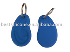 Silicone Keychain-ear shaped