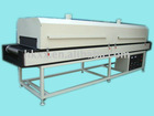 IR drying machine for PU chemicals