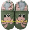 lovely soft sole leather kids shoe