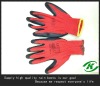 Long sleeve latex safety gloves for construction