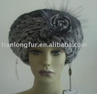 rex rabbit knit hat