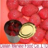 canned strawberry (canned fruits in light/heavy syrup)