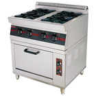 2012 year new 4 burners gas range with cabinet