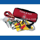 22pcs car emergency tool kit