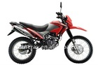 Dirt bike of 200cc powerful engine motorcycle