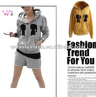 Ladies Printed Hoodie sweater / Women fashion Hoodies