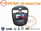 "for Nissan Tiida 2011-2012 8"" Car DVD GPS player IPOD ,USB,SD,HD"