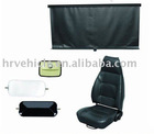 terminal prime mover trailer or truck rearview mirror