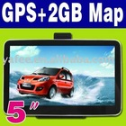 "5"" 2GB Bluetooth Car GPS Navigation O-548"