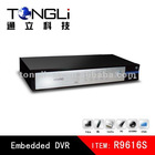 16ch D1 hd sdi usb disk dvr h 264 software