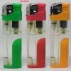 ITEM NO.BD-5820, ELECTRONIC REFILLABLE GAS LIGHTER WITH LED TORCH LIGHT