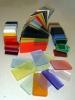 color acrylic tag
