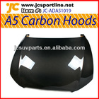 A5 2D 4D carbon hoods engine hoods car bonnet for Audi
