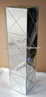 2012 New arrival modern mirrored nightstand stainless steel, mirrored stand, mirrored besides, mirrored furniture