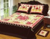 060 dk brown 4pcs blanket bedcover set